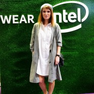 Today at #wearintel!