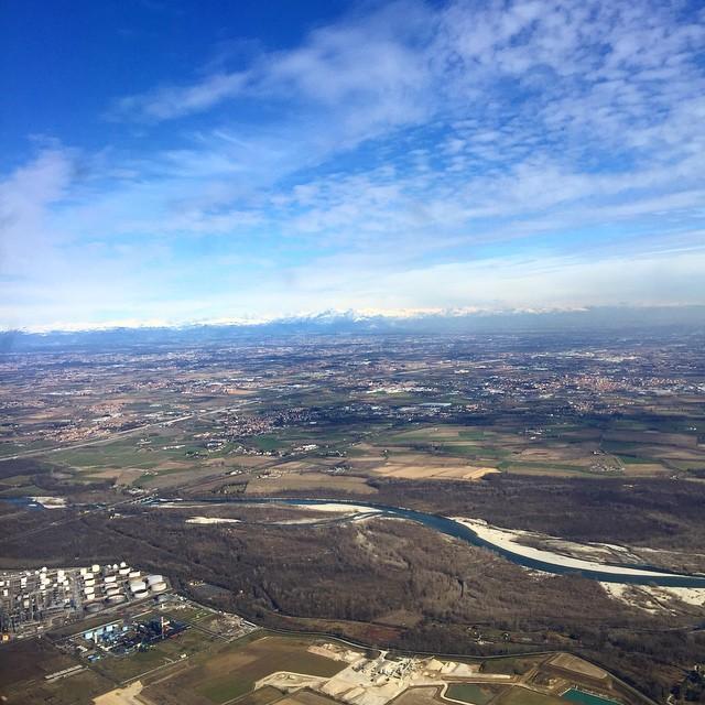 Happy landing in Milan with @iulianacristina.