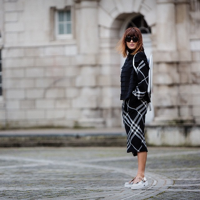 Ready for the 4th day of #lfw! Yesterday i wore…
