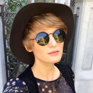 New hat in my wardrobe! And i saw today ahellip