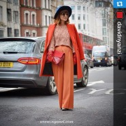 My orange-red outfit and an amazing shoot by @davidnyanzi #Repost…