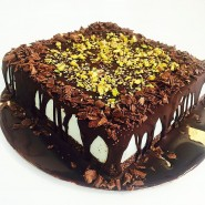 Our mint cake in a new shape! Yummy!!!