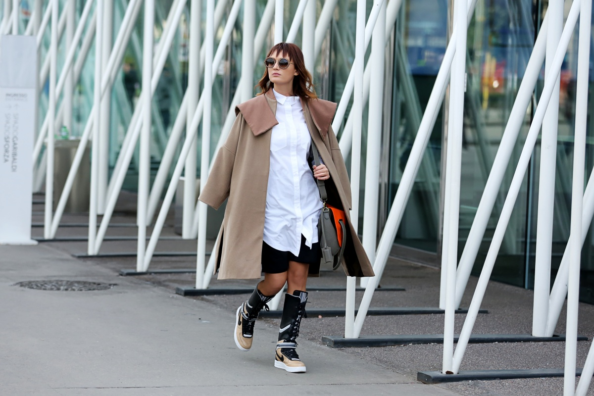 Carmen Negoita, Milano Fashion Week, Boots, Nike, Ricardo Tisci, Urban post (1)