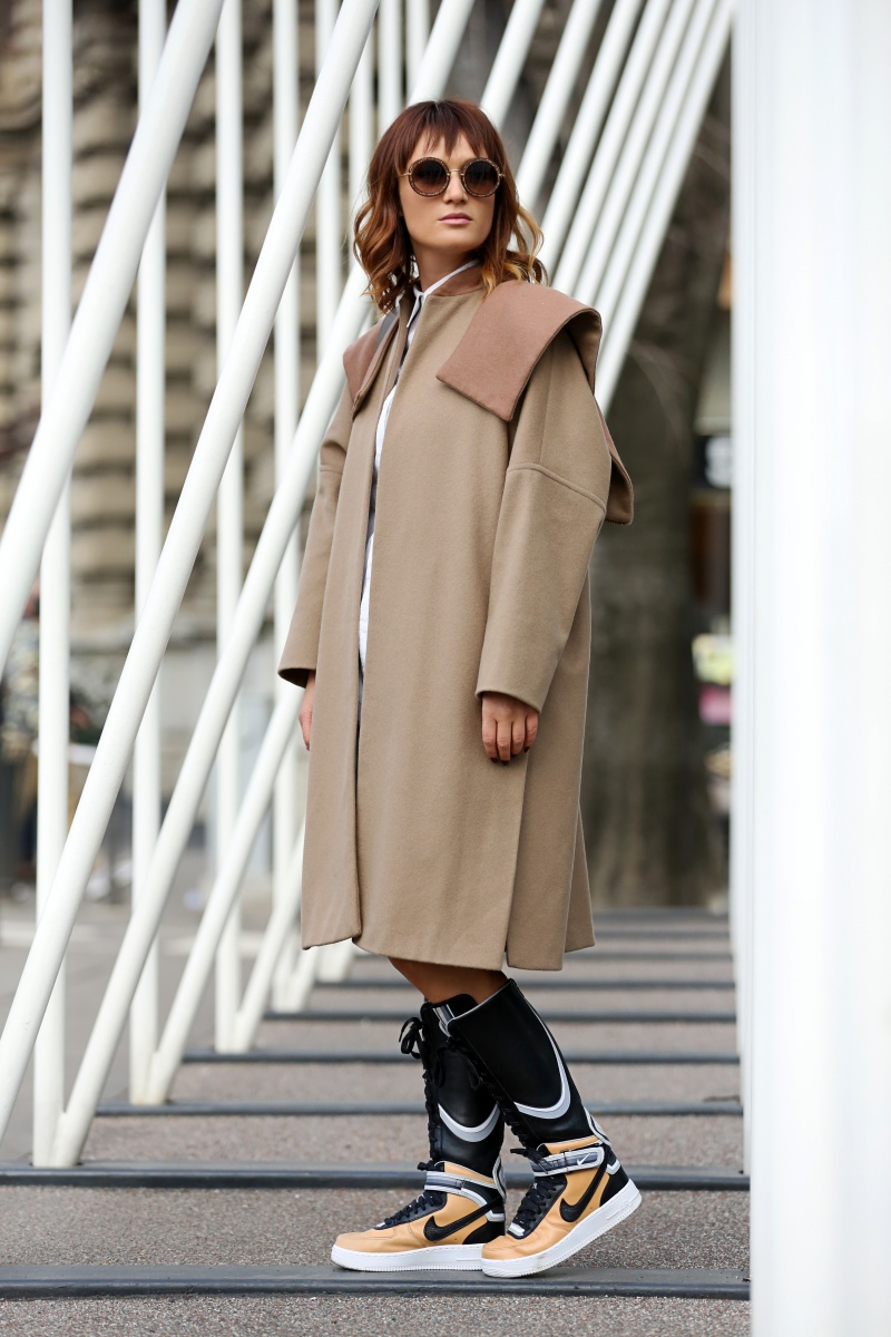 Carmen Negoita, Milano Fashion Week, Boots, Nike, Ricardo Tisci, Urban post (10)