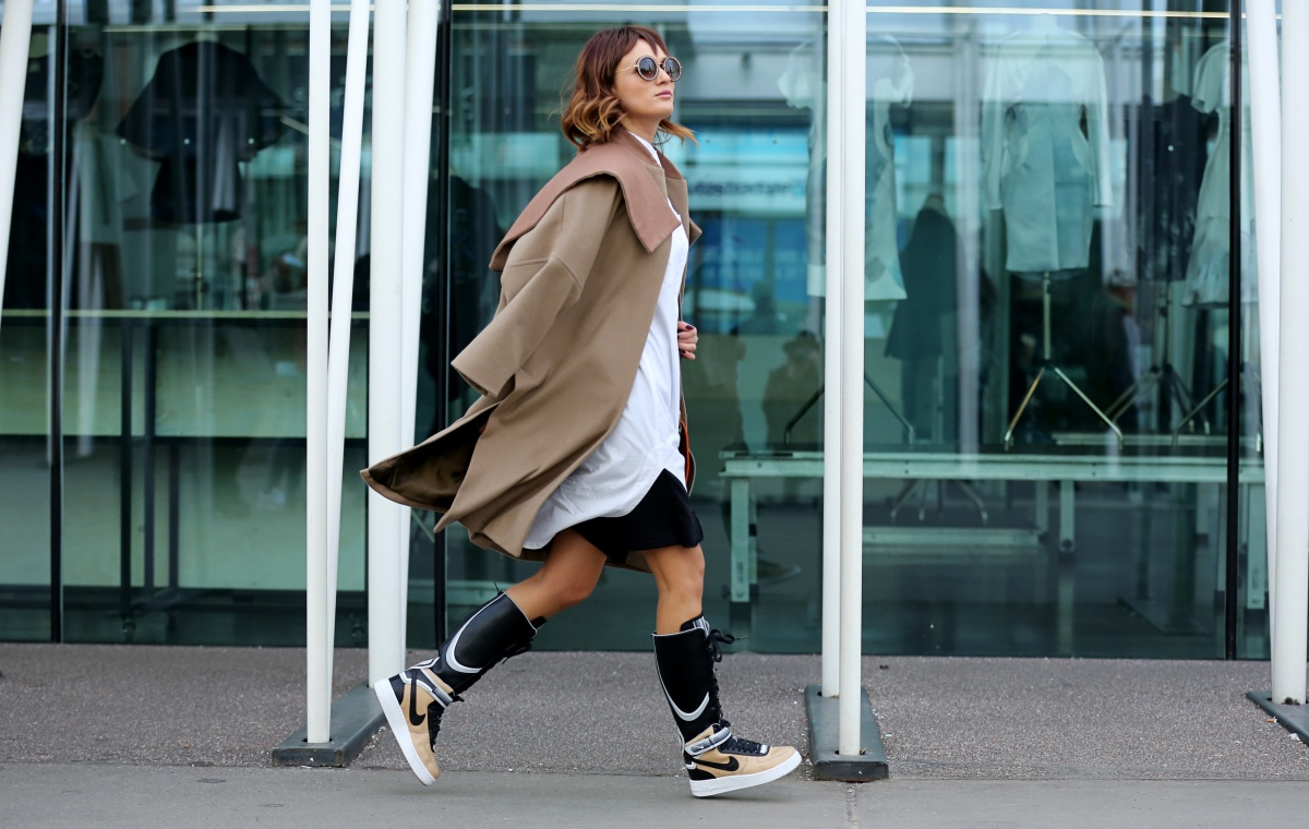 Carmen Negoita, Milano Fashion Week, Boots, Nike, Ricardo Tisci, Urban post (2)