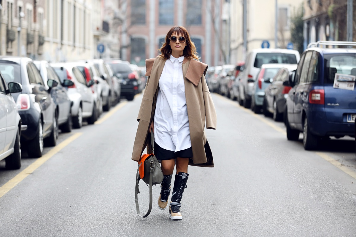 Carmen Negoita, Milano Fashion Week, Boots, Nike, Ricardo Tisci, Urban post (4)
