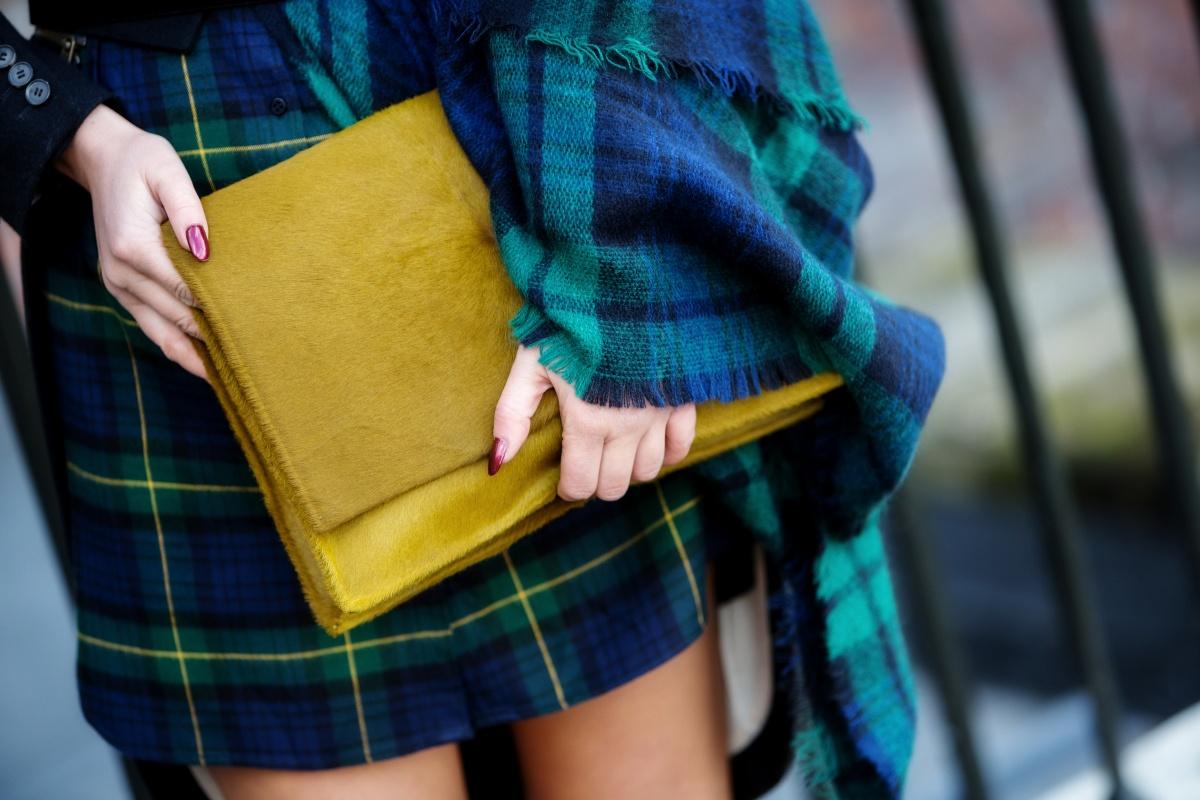 London Fashion Week, Tartan, Scottish, Carmen Negoita4