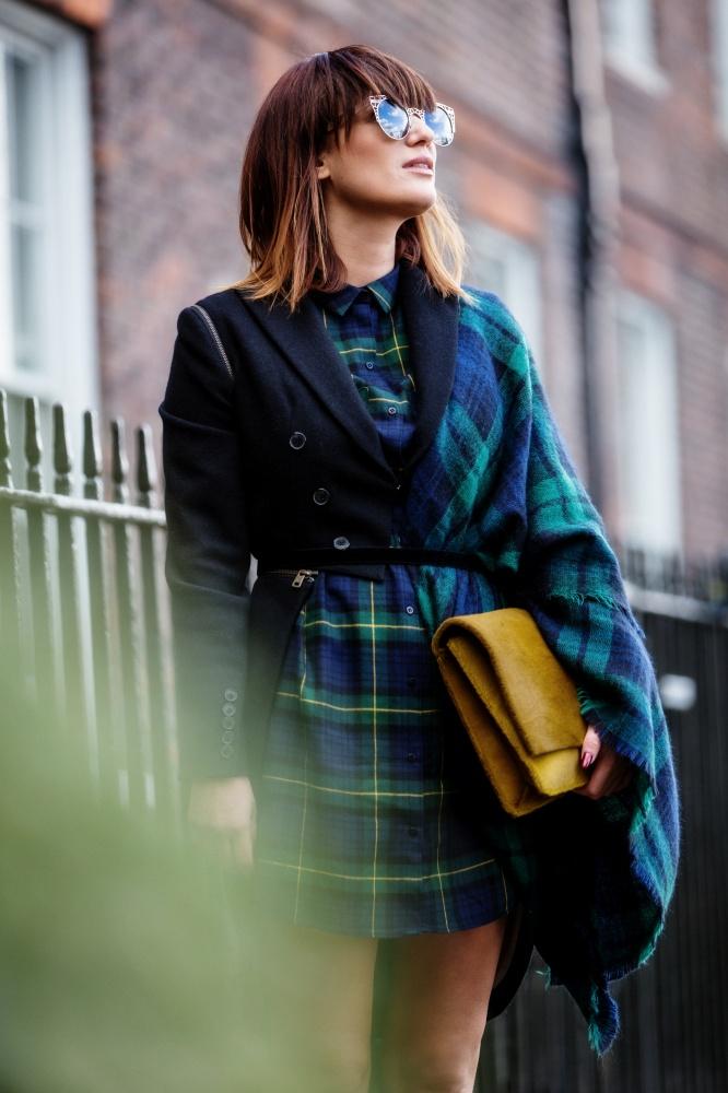 London Fashion Week, Tartan, Scottish, Carmen Negoita5
