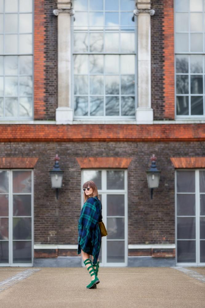 London Fashion Week, Tartan, Scottish, Carmen Negoita8