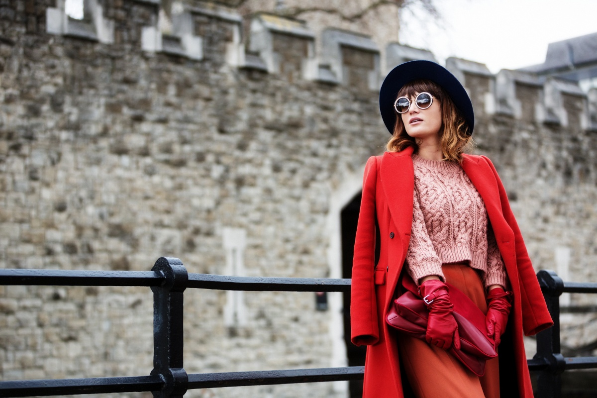 What i wore on my second day at London Fashion Week AW 2015