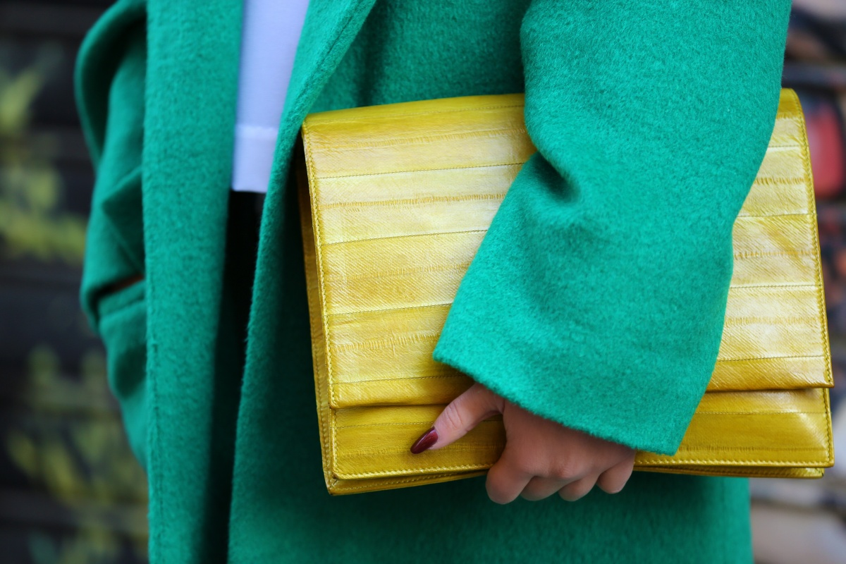 Green coat, Milan Fashion Week, Carmen Negoita, (1)