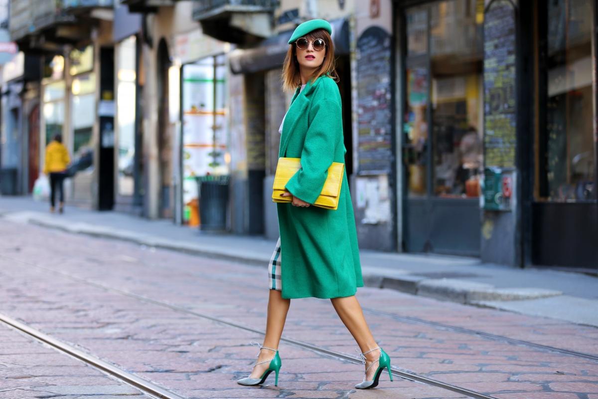 Green mood for Milan Fashion Week