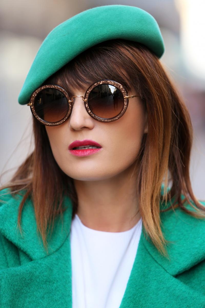 Green coat, Milan Fashion Week, Carmen Negoita, (3)