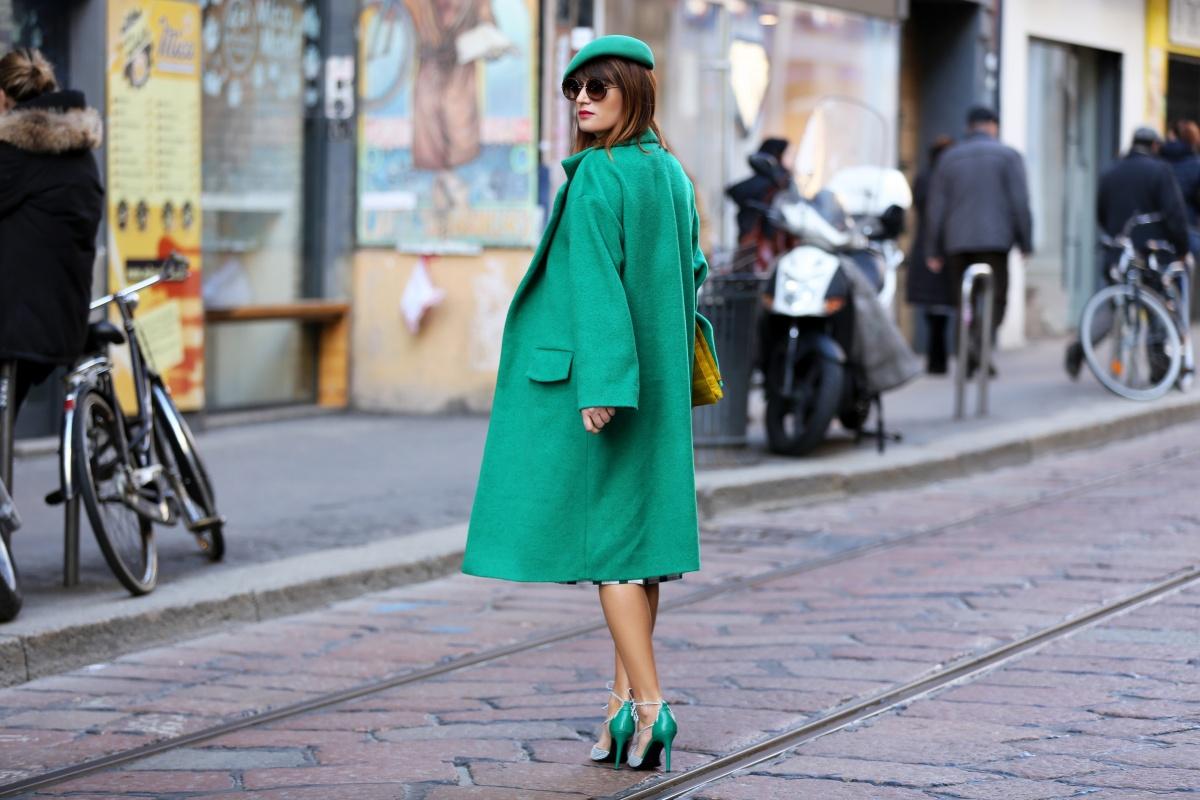 Green coat, Milan Fashion Week, Carmen Negoita, (5)
