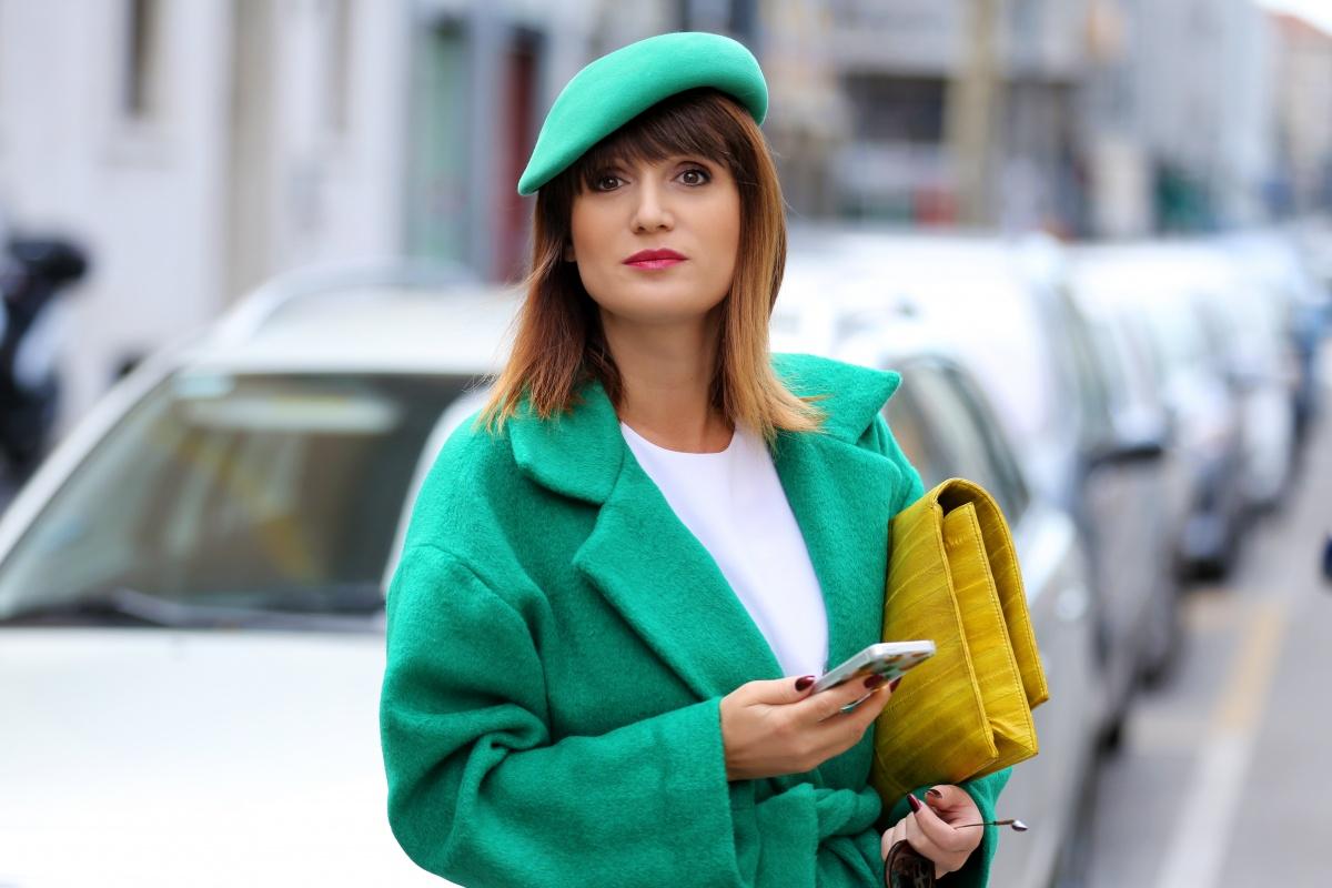 Green coat, Milan Fashion Week, Carmen Negoita, (6)