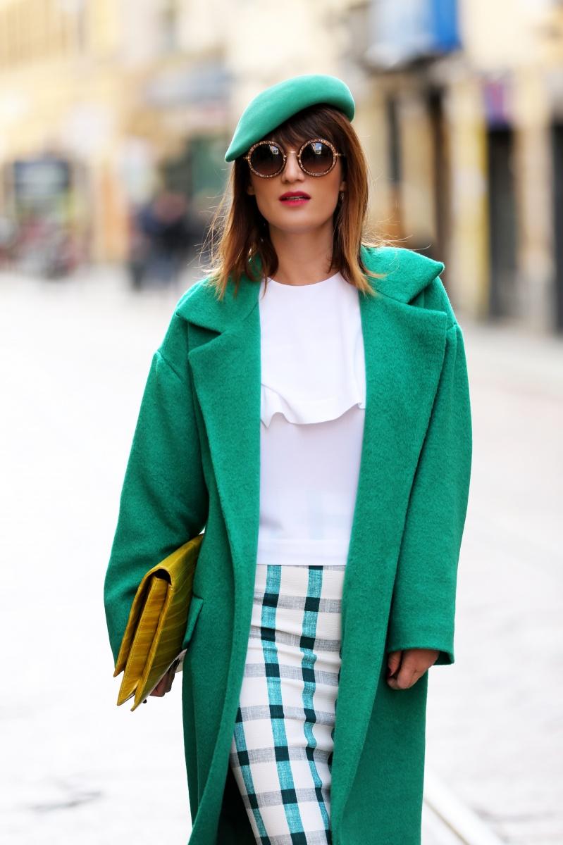 Green coat, Milan Fashion Week, Carmen Negoita, (8)