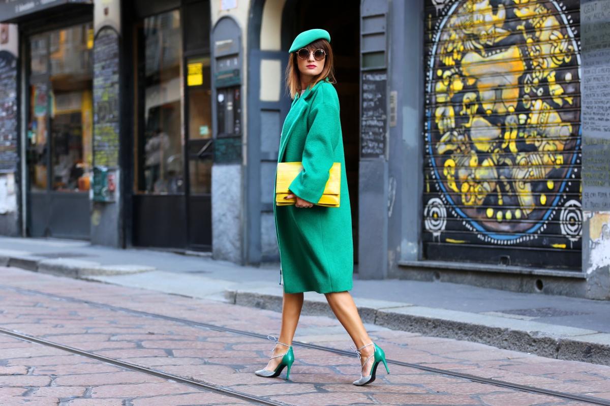 Green coat, Milan Fashion Week, Carmen Negoita, (9)