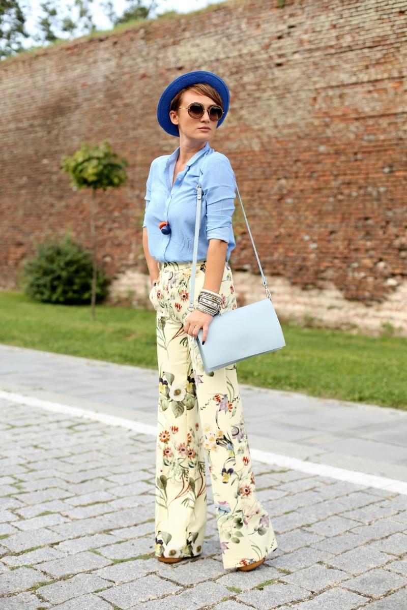 Carmen-Negoita-Blog-Floral-Print-Zara-Pants