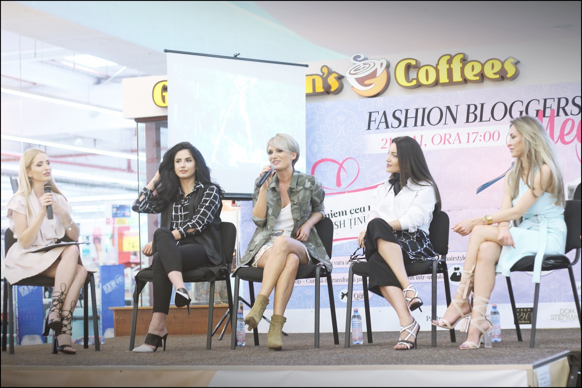 Fashion bloggers meeting @Jupiter City Pitesti