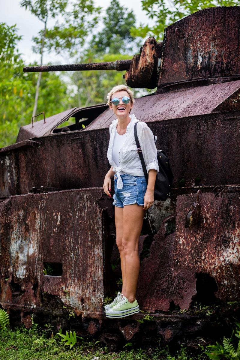Peleliu Island World War II Palau Travel