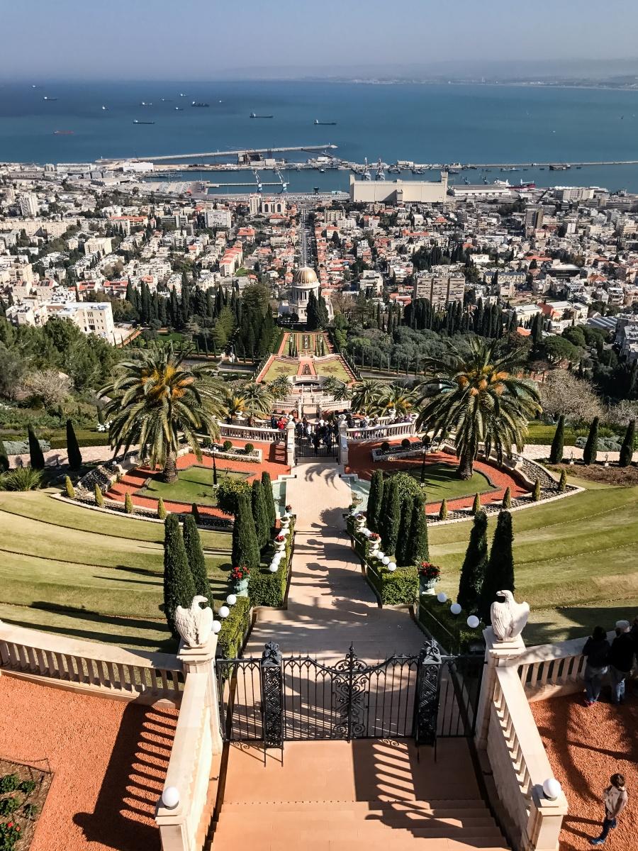 Israel, Bahai Gardens, Travel